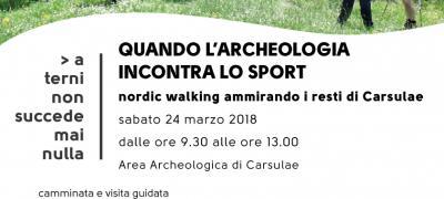 Carsulae: quando l'archeologia incontra lo sport