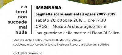 Mostra di Elena Di Felice: Imaginaria