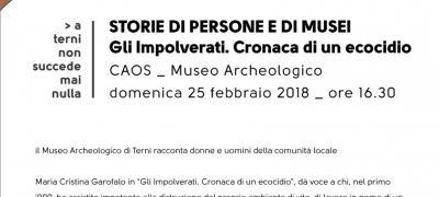 Caos Museo Archeologico: Storie di Persone e di Musei