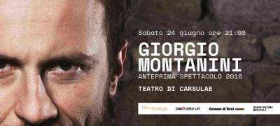 rinviato a data da destinarsi - Teatro di Carsulae: Giorgio Montanini - Anteprima Spettacolo 2018