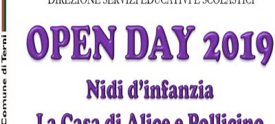 Open day nidi d'infanzia e centri per bambini e bambine comunali