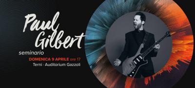 Visioninmusica 2017: Paul Gilbert - Seminario