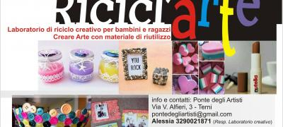 Ricicl'Arte: laboratorio per bambini