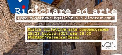 Mostra collettiva di arte visiva contemporanea: Riciclare ad Arte