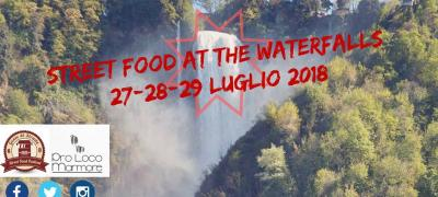 Street food at the waterfall