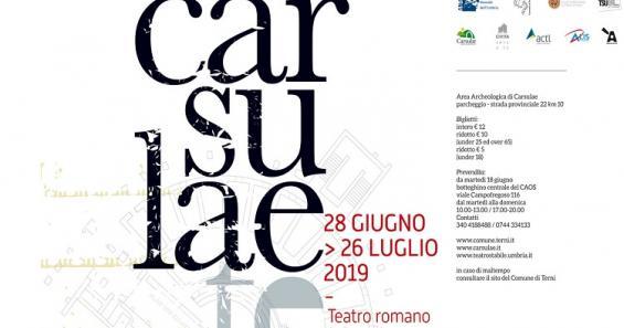 Carsulae Teatro 2019