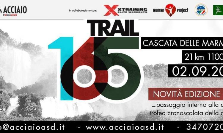 5^ edizione del Trail 165. Cascata delle Marmore