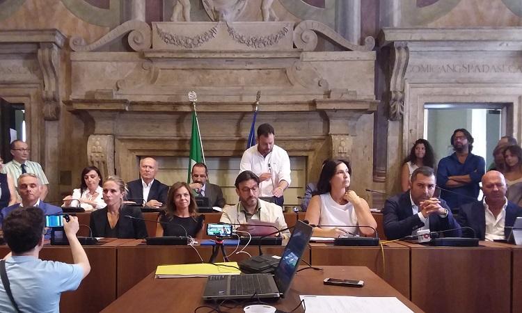 Il sindaco Latini presenta la nuova giunta comunale