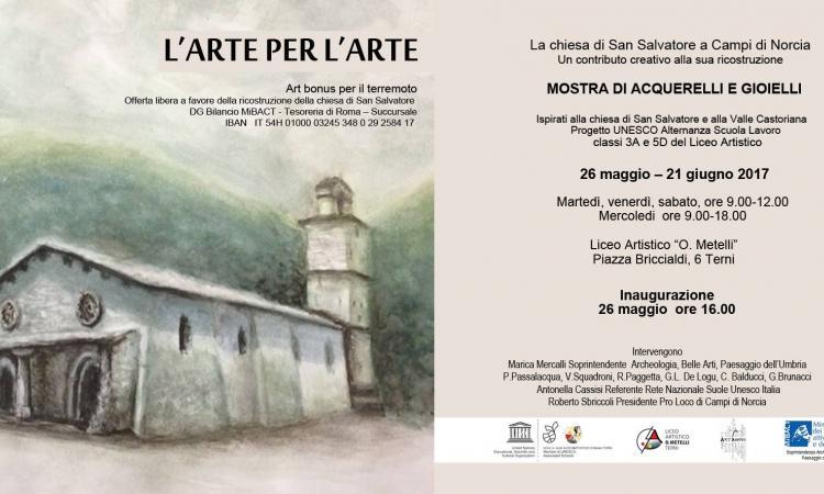 L'arte per l'arte: Mostra di Acquerelli e Gioielli