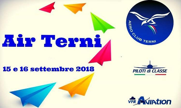 Air Terni 2018: i sindaci di Terni e Perugia in volo
