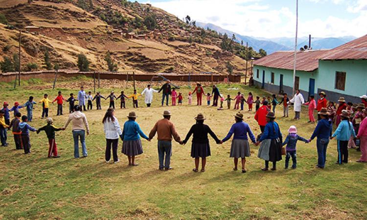Mostra-mercato di artigianato peruviano