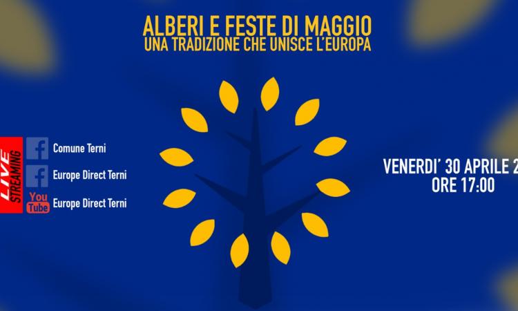 Primavere d'Europa, il 30 aprile un incontro sulle feste popolari dei Maggi