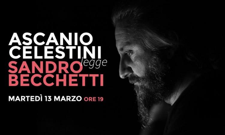 Ascanio Celestini legge Sandro Becchetti