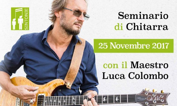 Seminario di chitarra con Luca Colombo