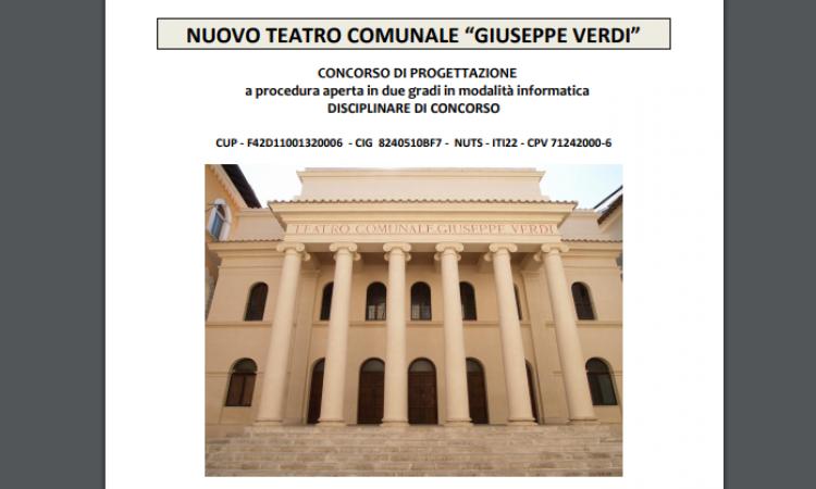 Teatro Verdi, presentate 33 proposte progettuali