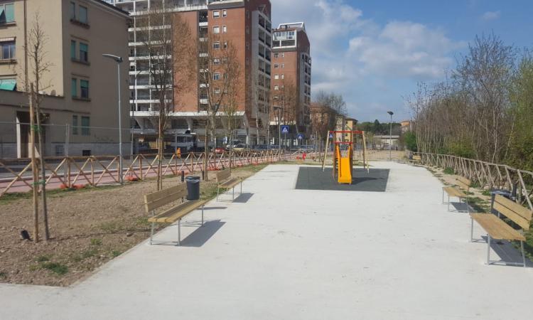 Inaugurazione intervento Terni Verde in via dell'Argine