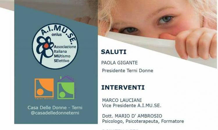 Mutismo selettivo: incontro informativo in Umbria ...