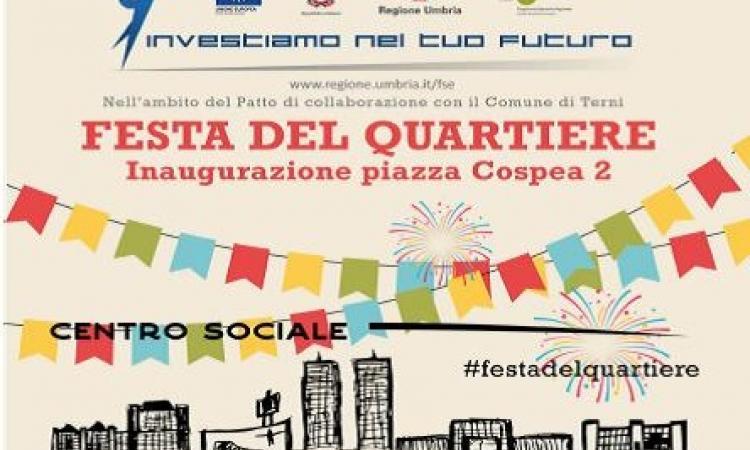 Si inaugura la piazza Cospea 2