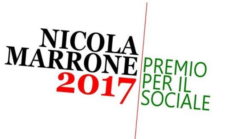 Premio Nicola Marrone per il Sociale 2017