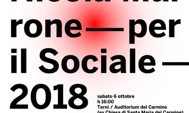 8° Premio Nicola Marrone per il Sociale