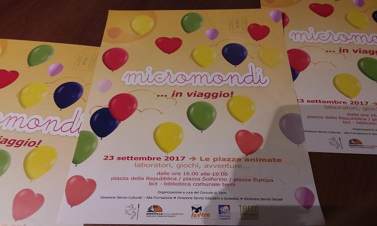 Micromondi 2017: i bambini protagonisti nelle piazze