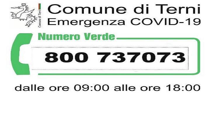 Covid-19: nuovi orari e linee per il numero verde comunale