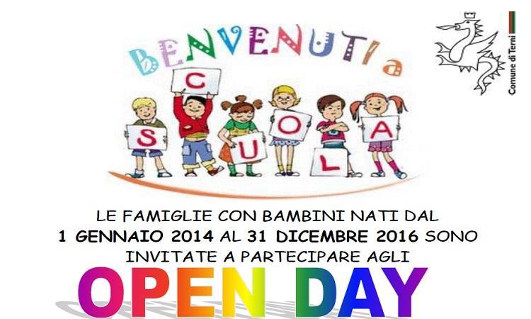 Gli open day delle scuole dell'infanzia comunali
