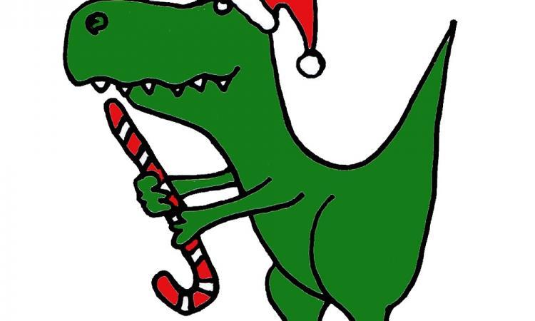 Dinoauguri di Buon Natale