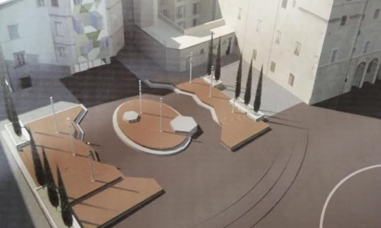 Sarà ristrutturata l'area accanto a Palazzo Spada