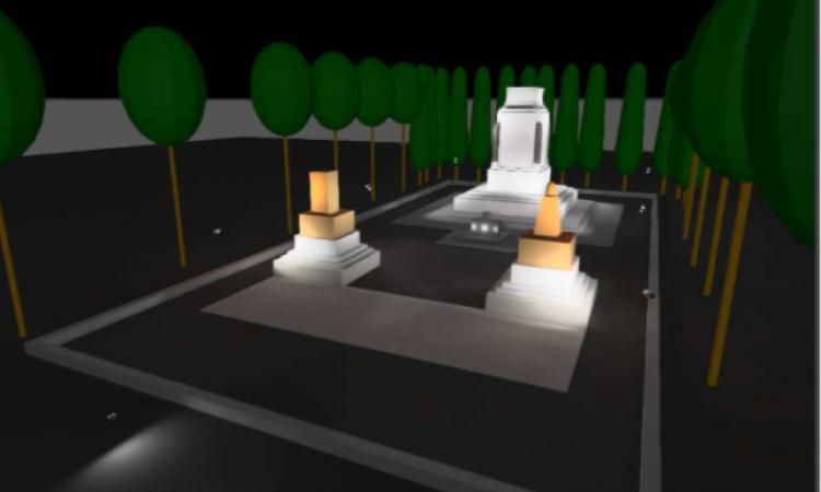 Festa della Repubblica, una nuova luce per il Monumento ai Caduti