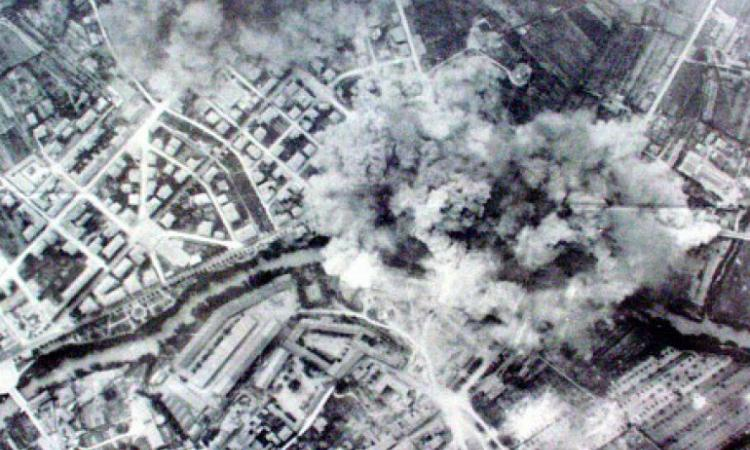 74 anni dal 1° disastroso bombardamento  di Terni