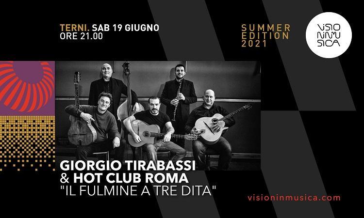 Giorgio Tirabassi & hot club Roma - IL FULMINE A TRE DITA