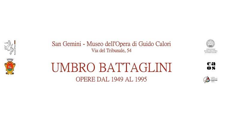 Umbro Battaglini. Opere da 1949 al 1995