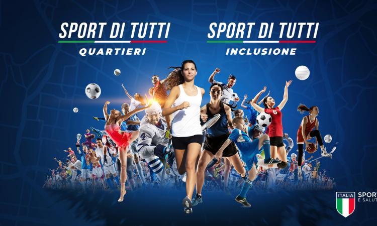 """""""Sport di tutti"""", due avvisi pubblici per sostenere l'associazionismo sportivo"""